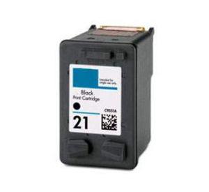 HP 21 inktcartridge zwart 23ml (compatible) CHP-021