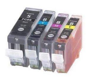 Canon CLI-8 / PGI-5 voordeelset 4 stuks MET CHIP (huismerk) CC-CLI8-VP004c