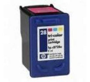 HP 28 inktcartridge 3 kleuren 21ml (compatible) CHP-028