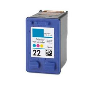 HP 22 inktcartridge 3 kleuren 23ml (compatible) CHP-022