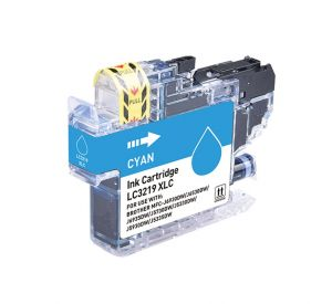 Brother LC-3219XL C inktcartridge cyaan met chip 17ml (huismerk) CBLC-3219XLC
