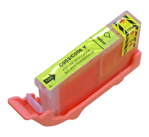 Canon BCI-3eY inktcartridge geel 15ml (huismerk) CC-BCI-3eY