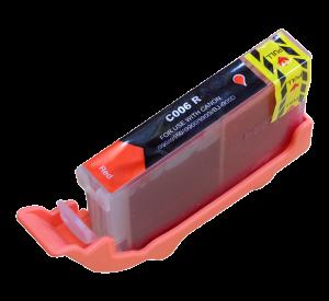 Canon BCI-6R inktcartridge rood 15ml (huismerk) CC-BCI-6R