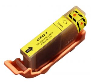 Canon CLI-42Y inktcartridge geel met chip (huismerk) Canon CLI-42Y