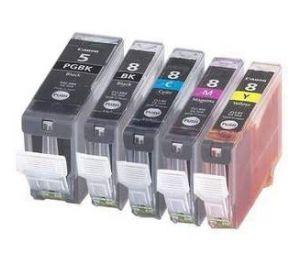 Canon PGI-5 / CLI-8 voordeelset 25 stuks MET CHIP (huismerk) CC-CLI8-VP25c