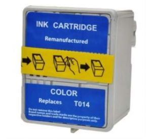Epson T014 inktcartridge 3 kleuren 36ml met chip (huismerk) EC-T0014