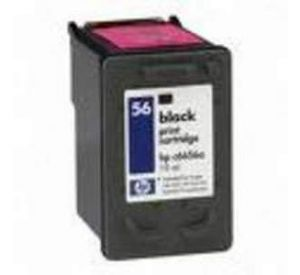 HP 56 inktcartridge zwart 23ml (compatible) CHP-056