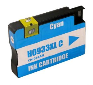 HP 933XL / CN054AE inktcartridge cyaan 14ml met chip (huismerk) CHP-933XLCC