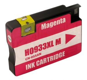 HP 933XL / CN055AE inktcartridge magenta 14ml met chip (huismerk) CHP-933XLCM