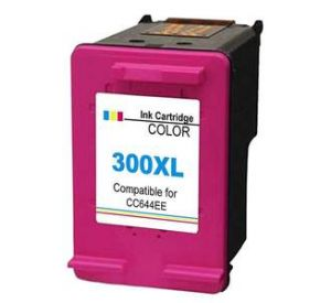 HP 300XL / CC644EE inktcartridge kleur (compatible) CHP-300XLK