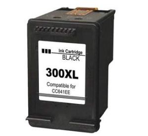 HP 300XL / CC641EE inktcartridge zwart (compatible) CHP-300XL