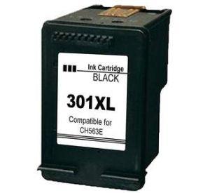 HP 301XL / CH563EE inktcartridge zwart hoge capaciteit 18ml (huismerk)  CHP-301XL