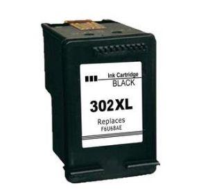 HP 302XL / F6U68AE inktcartridge zwart (huismerk) CHP-302XL