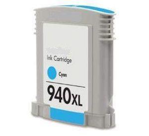 HP 940XL (C4907AE) inktcartridge cyaan hoge capaciteit 30ml (huismerk) CHP-940XLC