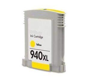 HP 940XL (C4909AE) inktcartridge geel hoge capaciteit 30ml (huismerk) CHP-940XLY