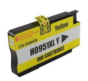 HP 951XL / CN048AE inktcartridge geel hoge capaciteit 27ml met chip (huismerk) CHP-951XLCY