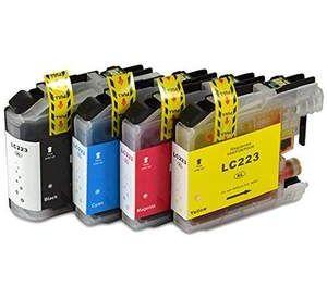 Brother LC-223 voordeelset 16 stuks met chip (huismerk) BC-LC-0223ZVP016