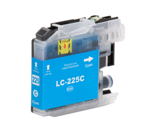 Brother LC-225XL C inktcartridge cyaan met chip (huismerk) BC-LC-0225XLC