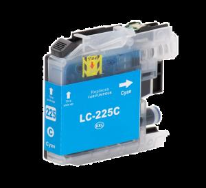 Brother LC-225XL C inktcartridge cyaan met chip (huismerk) BC-LC-0225XLC