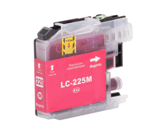 Brother LC-225XL M inktcartridge magenta met chip (huismerk) BC-LC-0225XLM