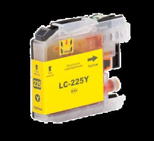 Brother LC-225XL Y inktcartridge geel met chip (huismerk) BC-LC-0225XLY