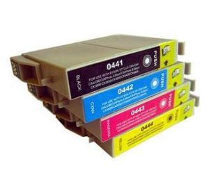 Epson T0441-T0444 multipack 8 inktcartridges (huismerk) EC-T04452